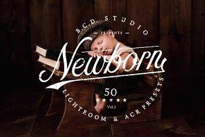 50 Newborn LR & ACR Presets