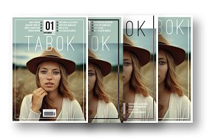 Tabok - Magazine Cover Template