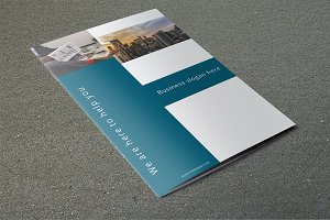 Corporate Bifold Brochure -V724