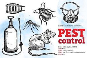 Pest Control Sketch Set