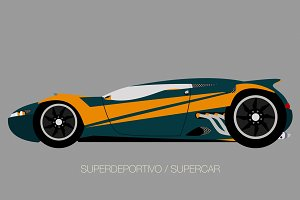 coupe supercar
