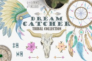 Dream catcher Tribal Set