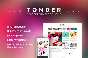 Tønder - WordPress Blog Theme