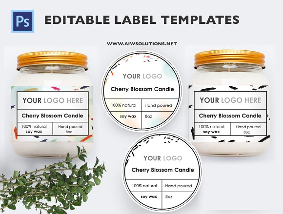 product label id13 stationery templates creative market
