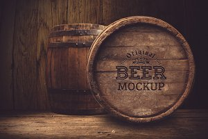 Beer Barrel Mock-up#18