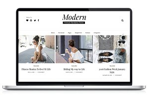 Modern-Wordpress Blog Theme
