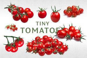 Tiny cherry tomatoes