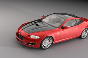 Dosch 3D - Concept Cars - Sample