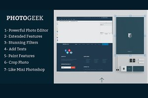 Photogeek - Powerful Image Editor