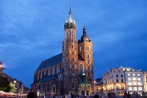 St Mary's Basilica in Krakow