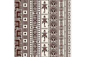 Mexican indian seamless pattern