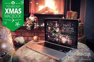 XMAS MacBook Pro Mockup