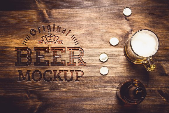 Download Beer Table Mock-up#22