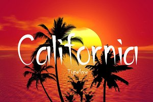 California Typeface