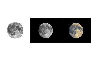 Full moon photo pack