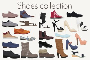 Men & women shoes collection