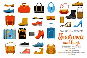 Footwear and Bags Set