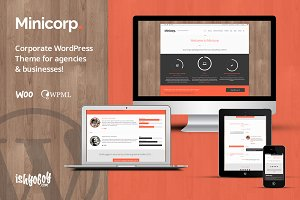 Minicorp - Agency WordPress Theme