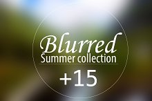 +15 Blurred summer collection