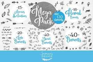 Element Bundle Mega Pack SVG AI PSD