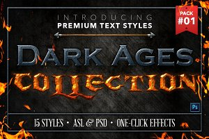 Dark Ages #1 - Text Styles