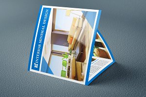 Square Trifold Corporate Brochure
