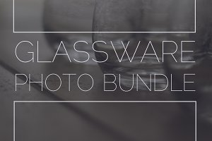 Glassware Photo Bundle