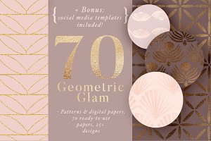 70 Geometric Glam Patterns