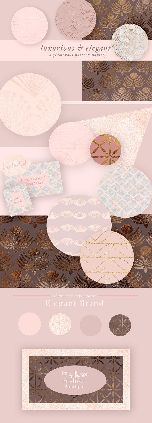 70 Geometric Glam Patterns ~ Patterns ~ Creative Market