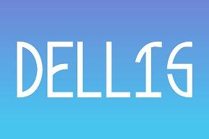 Dellis Typeface
