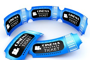 3D Cinema ticket coupon.