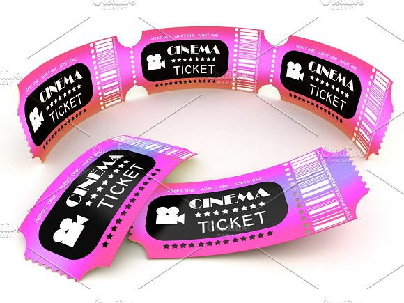 3D Cinema Ticket Coupon