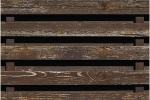 Background of the wooden fence. Copy space.