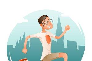 Running Geek Hipster