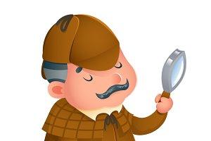 Victorian detective gentleman