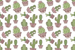 Vector color seamless pattern