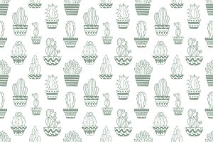 Hand drawn sketch pattern