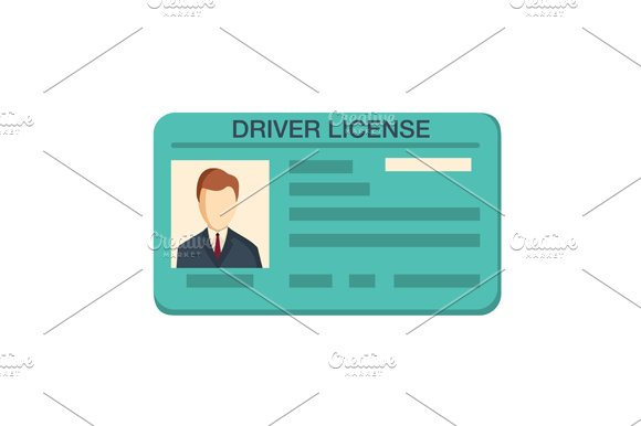 Car Driver License Identification