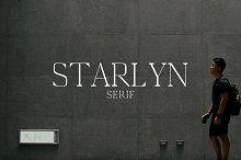 Starlyn Serif 4 Font Family