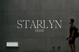 Starlyn Serif 4 Font Family