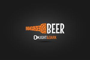 beer bottle opener design background