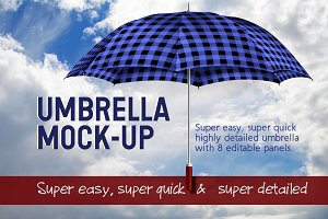 Umbrella for City, Golf or Beach
