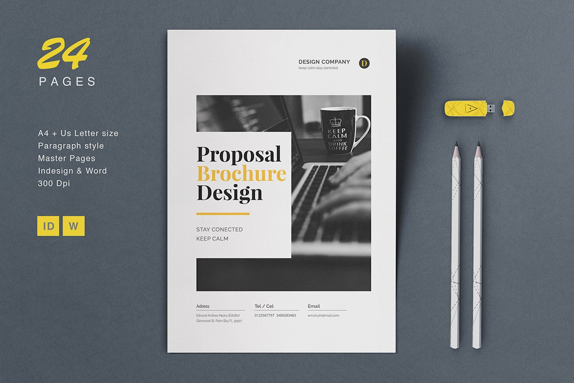 20 creative business proposal templates you wont believe are proposal brochure ccuart Images