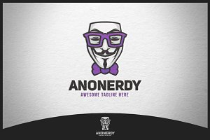 Anonerdy Logo