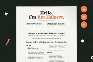 Human-Voiced Resume CV Kit