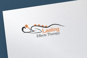 Lasting Effect Therapy Logo Template