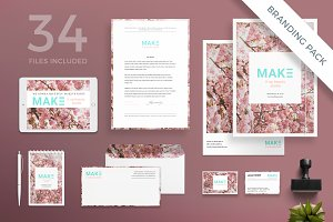 Branding Pack | Make It Up Beauty
