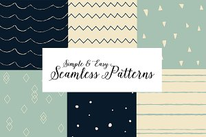 20% Off 10 Seamless Patterns