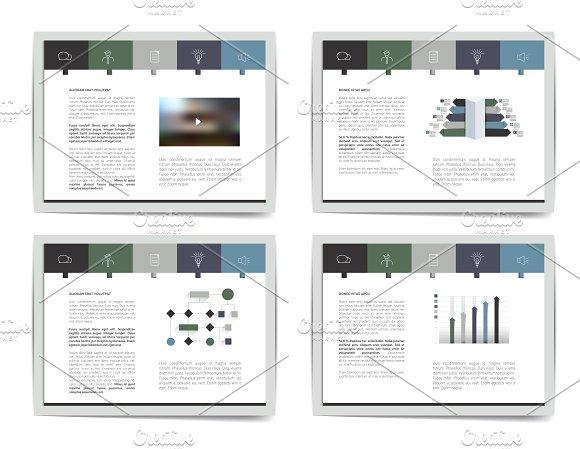 4 Presentation Business Templates