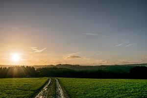 Path into the sun